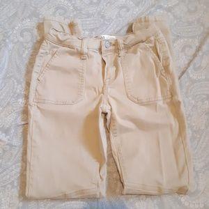 Mudd Utility Skinny Size 0 Khaki Jeans